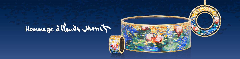 Freywille Hommage à Claude Monet Kollektionsbanner