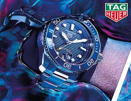 Tag Heuer Aquaracer Kollektion Banner Drubba