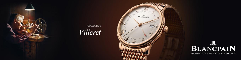 Blancpain Villeret GMT Date Kollektion