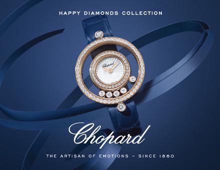 Chopard Happy Diamonds Uhren Kollektionskachel