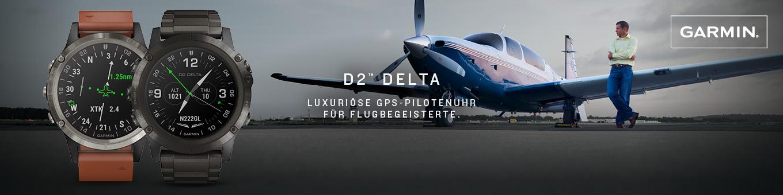 Garmin D2 Delta Kollektionsbanner
