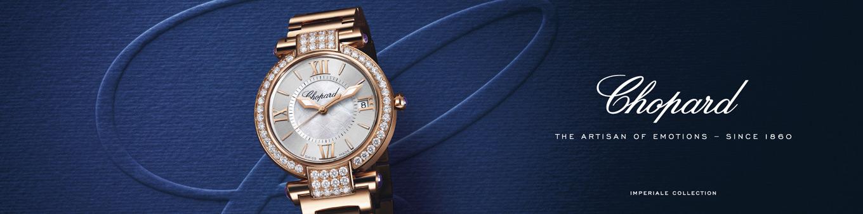 Chopard Imperiale Uhren Kollektionsbanner